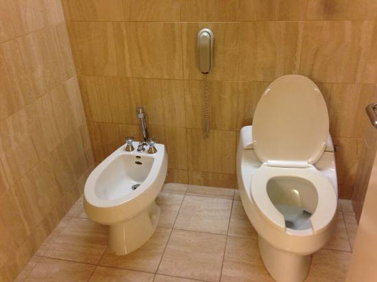 The Westin Chicago River North Bathroom With Bidet