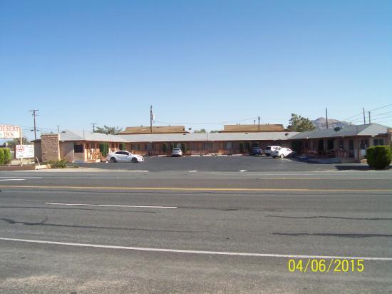 Desert Inn: the motel from over the road.