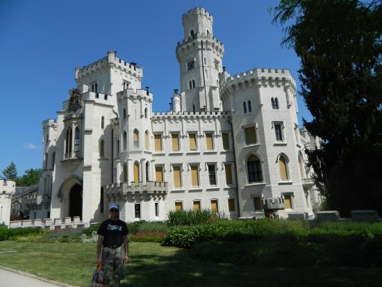 Hluboka Nad Vltavou Castle: Вид на замок