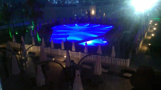SENTIDO Flora Garden : One of the pools at night