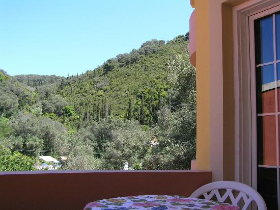Rolandos Apartments: View from our one-bedroom apartment