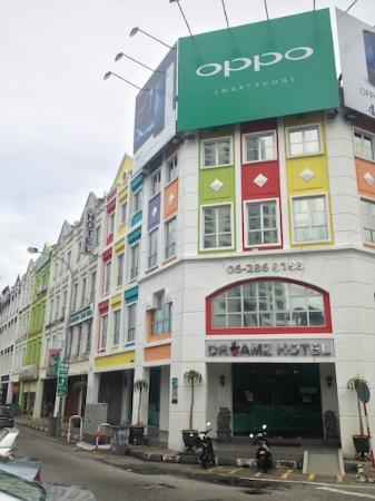 Dreamz Hotel: ホテル外観