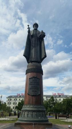 Monument to the Prince Daniil Moskovskiy