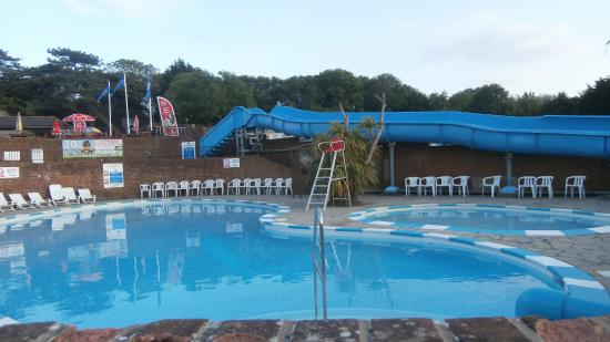 Lower Hyde Outside Swimming Pool Picture Of Lower Hyde Holiday Park Park Resorts Shanklin