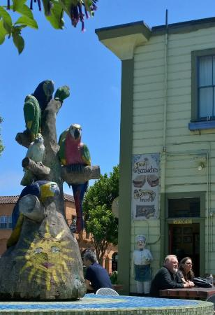 San Benito House : Et kik til sandwich-butikken