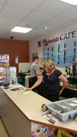 the staff at seaside cafe picture of seaside cafe eastbourne rh tripadvisor co za