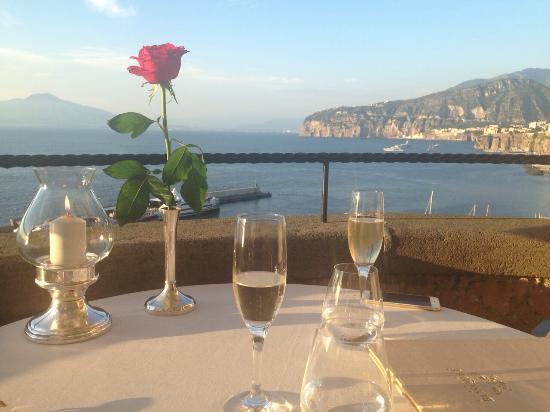 Table setting - Picture of Terrazza Bosquet, Sorrento - TripAdvisor