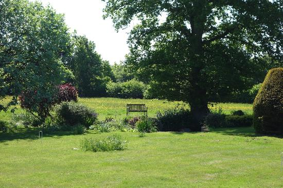 Godwin House: The magnificent garden...