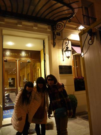 Hotel Queen Mary: 玄関