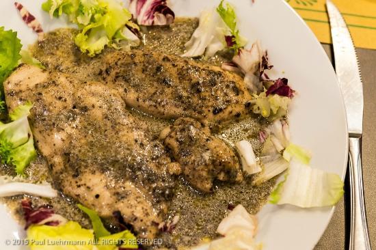 Ristorante Grotta Antica: Grotta Antica - Petto di Pollo in salsa tartufo (Chicken w Truffle Sauce)