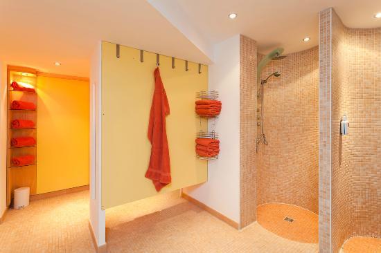 Hotel Atlantic Juist - Apartments: Saunabereich
