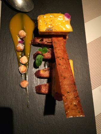 Foie gras...