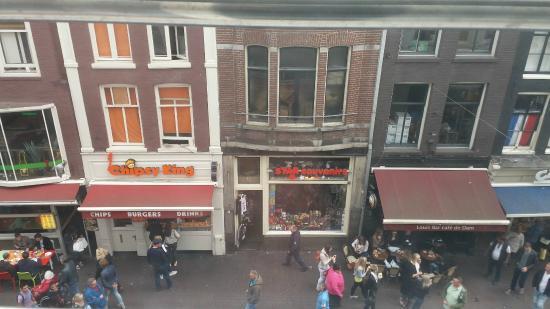 Doria Hotel Amsterdam: vista quarto