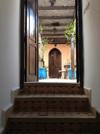 Riad Balkisse : Accès à la chambre