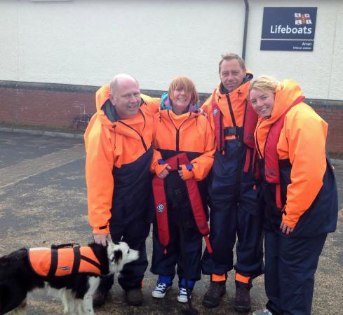 Ocean Breeze Rib Tours: All kitted up and ready to go