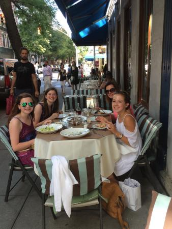 Savore Ristorante : Taking a break from shopping with the girls