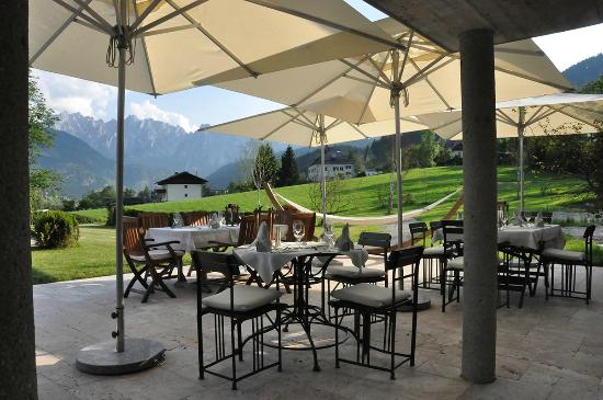 Landhaus Koller: Terrasse