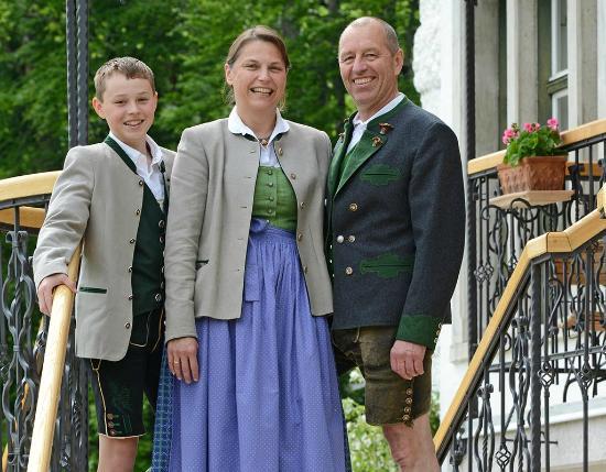 Landhaus Koller: Familie Koller