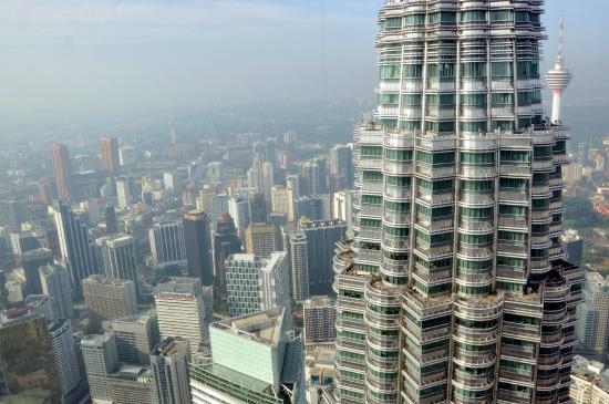 how to draw petronas twin towers