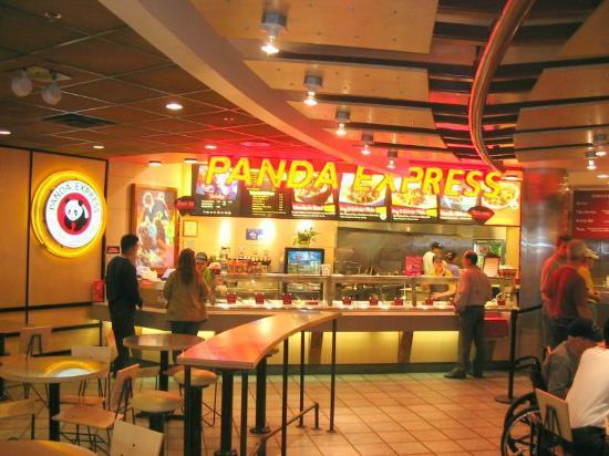 Int rieur du restaurant picture of panda express las for Interieur restaurant