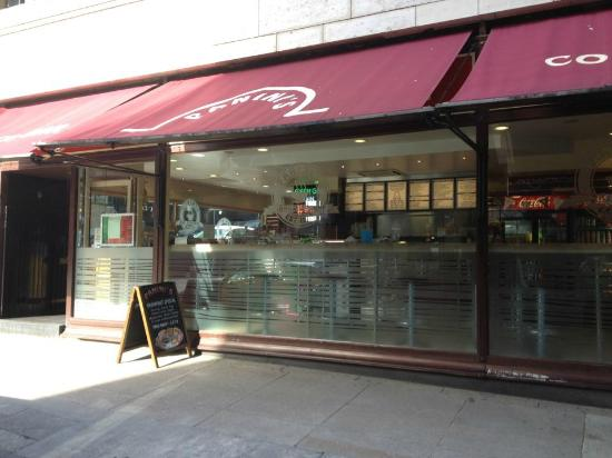 Panini's: Outside Shop Front with Canopes