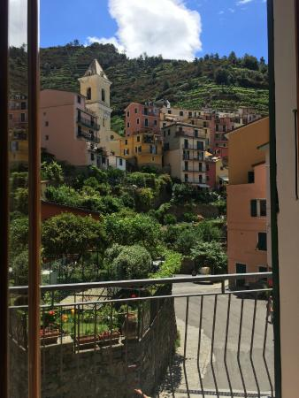 Da Paulin Rooms and apartments : View from balcony in Perla