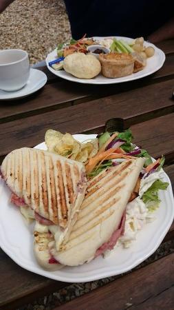 Tea at the Bridge: panini & ploughmans