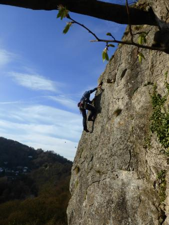 Ipstones, UK: Over 50's with Rock Climbing Peak District at WildCat, Derwent Valley