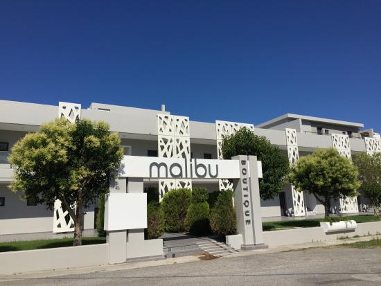 Malibu Boutique Studios Вид на отель