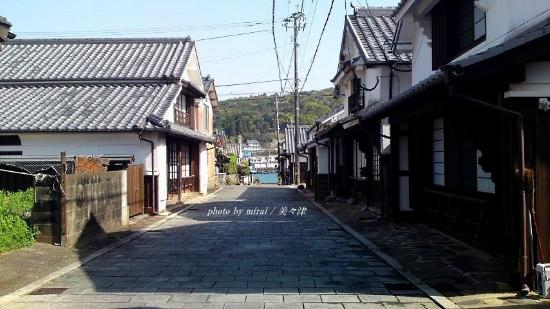 Mimitsucho Traditional Architectures Preservation District: 石畳も素晴らしい!