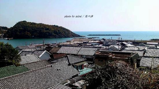 Mimitsucho Traditional Architectures Preservation District: 港町では珍しい街並み保存地区です。