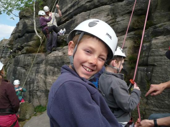 Ipstones, UK: Keen Youth at Birchen Edge