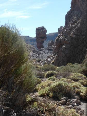 Ipstones, UK: Walking into the sport climbing area of Mount Teide, Tenerife
