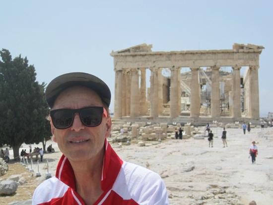 A for Athens: acropolis view
