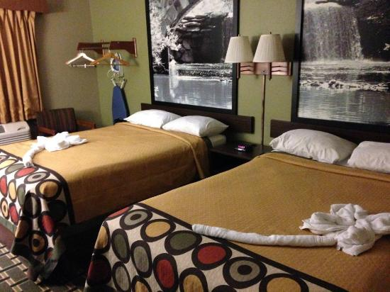 Super 8 Russellville: Double room