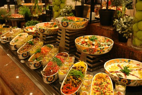 Ramadan iftar buffet picture of mosaic mediterranean for Al tannour mediterranean cuisine menu