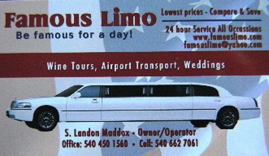 Famous Limo