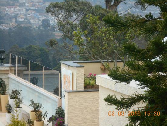 A view picture of gem park ooty ooty udhagamandalam - Best hotels in ooty with swimming pool ...