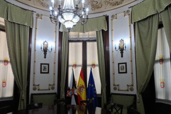 Palacio de la Asamblea: inside