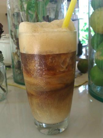 Jumpahom Restaurant: Ice coffee