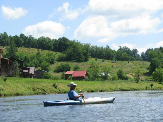River and Earth Adventures, Inc: A slow paddle in the cool breeze!