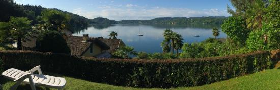 Terrace/Garden view from Villa Pinin