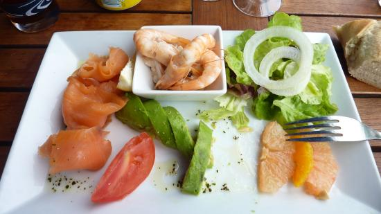 Hotel Le Bellevue : salade fraicheur