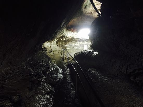 Rokando Limestone Cave: 滝観洞
