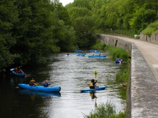 Saint-Pere, Francia: AMCK canoe location