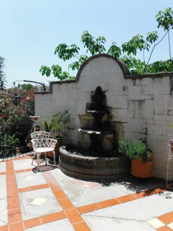 Hotel Las Mariposas: terraza fuera de la habitación