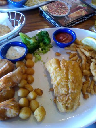 Red Lobster: Ассорти из морепродуктов