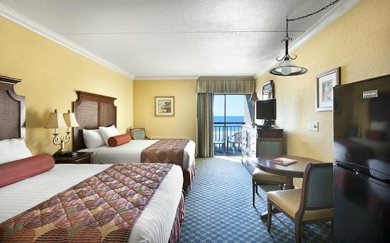 Holiday Inn at the Pavilion: Low Rise Oceanfront Room