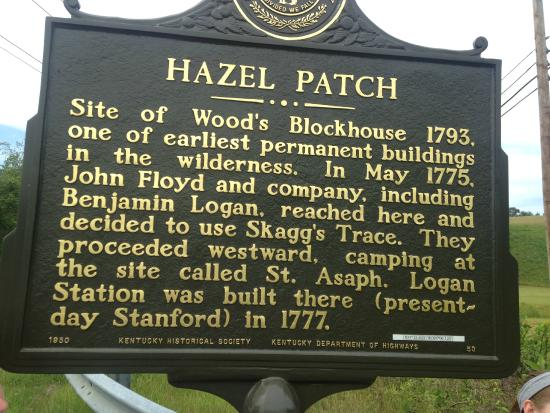 ‪The Hazel Patch Marker‬
