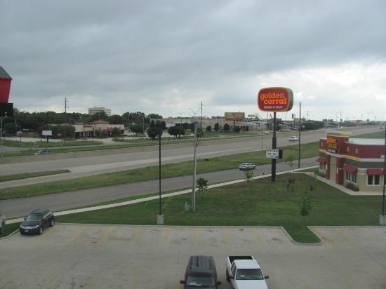 Value Place Abilene: The view from my room.